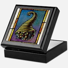 Cornucopia Keepsake Box