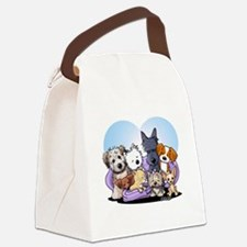 The Littlest Souls Canvas Lunch Bag