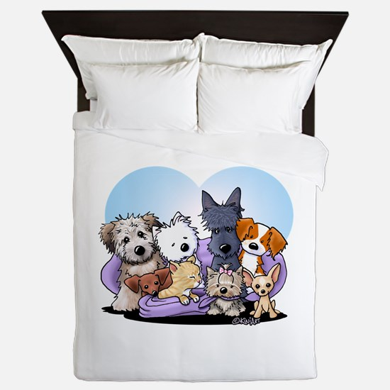 The Littlest Souls Queen Duvet