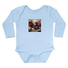 The Coronation Long Sleeve Infant Bodysuit