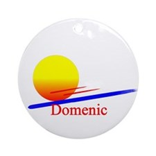Domenic Ornament (Round)