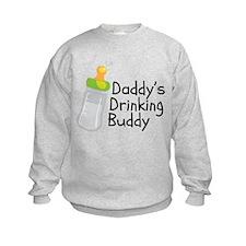Daddys Drinking Buddy Sweatshirt