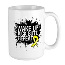 Sarcoma Cancer Kick Butt Mug