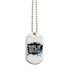 Prostate Cancer Kick Butt Dog Tags