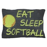 Softball Pillow Cases