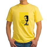 Jesse jackson Mens Classic Yellow T-Shirts