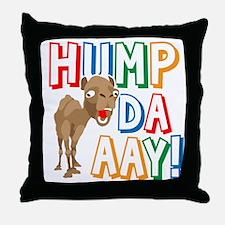 Humpdaaay Wednesday Throw Pillow