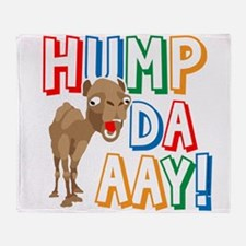 Humpdaaay Wednesday Throw Blanket