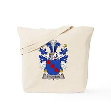 Thorsen Family Crest Tote Bag