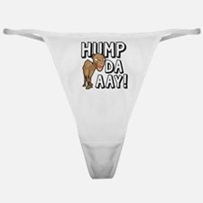 Humpdaaay Camel Wednesday-01 Classic Thong
