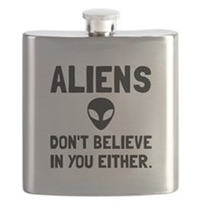 Aliens Dont Believe Flask