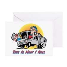 This Is How I Roll RV Greeting Cards (Pk of 10
