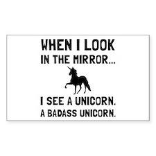 Badass Unicorn Decal