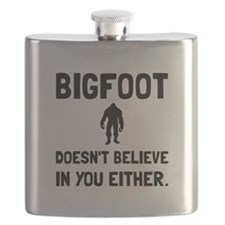 Bigfoot Doesnt Believe Flask