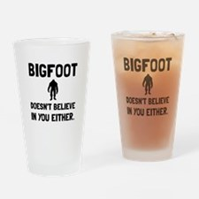 Bigfoot Doesnt Believe Drinking Glass