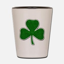 Lucky Irish Shamrock Shot Glass