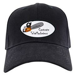 Castrate TeleMarketers Baseball Hat