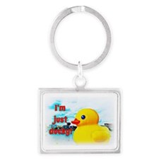 Just Ducky Landscape Keychain