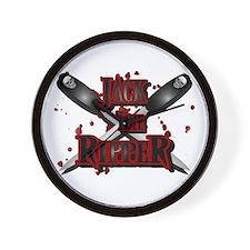 Jack the Ripper 6 Wall Clock