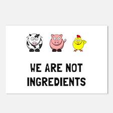 Not Ingredients Postcards (Package of 8)