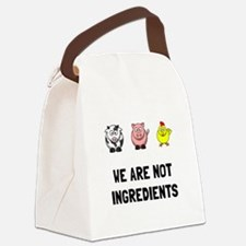 Not Ingredients Canvas Lunch Bag