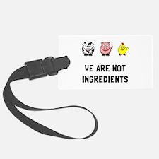 Not Ingredients Luggage Tag