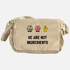 Not Ingredients Messenger Bag