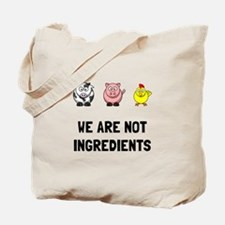 Not Ingredients Tote Bag