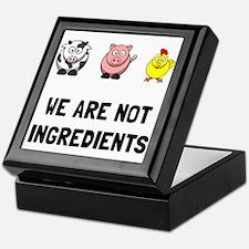 Not Ingredients Keepsake Box