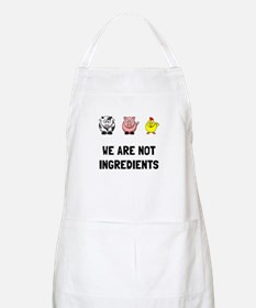 Not Ingredients Apron