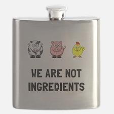 Not Ingredients Flask