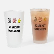 Not Ingredients Drinking Glass