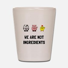 Not Ingredients Shot Glass