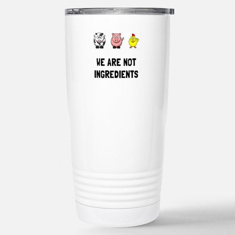 Not Ingredients Travel Mug