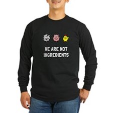 Not Ingredients Long Sleeve T-Shirt