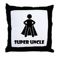 Super Uncle Throw Pillow
