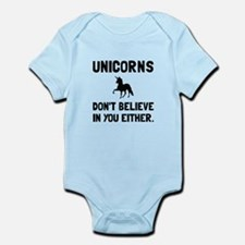 Unicorns Dont Believe Body Suit
