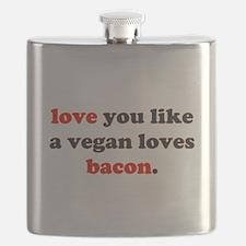 Vegan Bacon Flask
