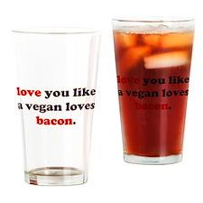 Vegan Bacon Drinking Glass