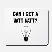 Watt Watt Mousepad