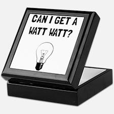 Watt Watt Keepsake Box