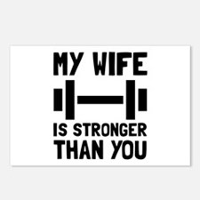 Wife Stronger Postcards (Package of 8)