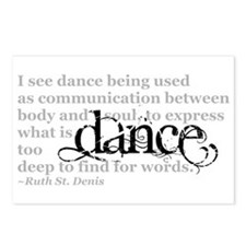 Dance Quote Postcards (Package of 8)