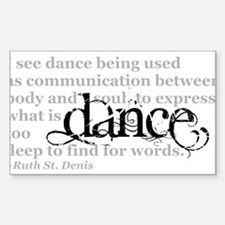 Dance Quote Decal