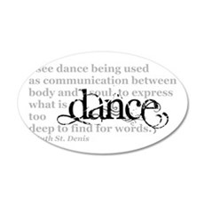 Dance Quote Wall Decal