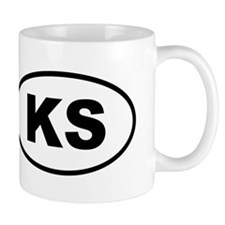 Kansas KS Mugs