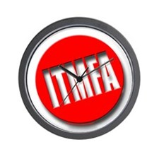 Big Red ITMFA Wall Clock
