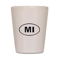 Michigan MI Shot Glass