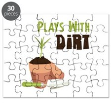 PLAYS WITH DIRT Puzzle