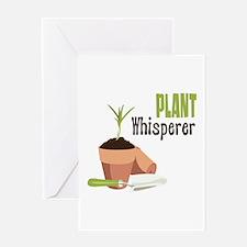 PLANT Whisperer Greeting Cards